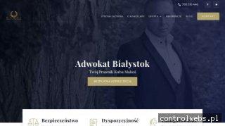 Kancelaria Adwokacka Białystok - Adwokat Makoś