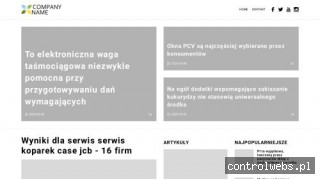 Witryna dla przedsiębiorców - amigdalina.com.pl