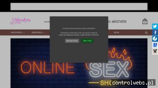 Afrodyta - sexshop online