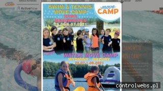 Instruktorzy pływania - MOVE CAMP