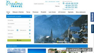 Biuro Turystyczne - Proxima Travel