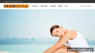Algi Guam dla pięknej i gładkiej skóry, bez cellulitu