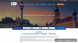 Holiday Inn Express Warsaw Mokotow Hotel w Warszawie Mokotów