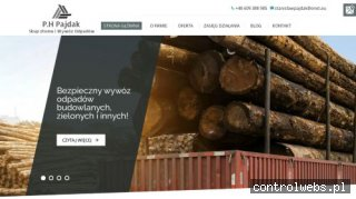pajdak.com.pl kontenery na gruz bochnia