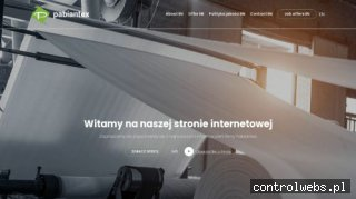 Płótna filtracyjne - pabiantex.com.pl