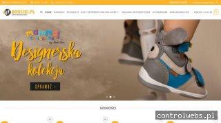 Boociki obuwie ortopeyczne dla dzieci
