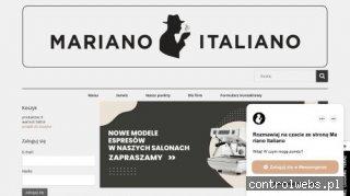 Mariano Italiano - włoska kawa w Twoim domu