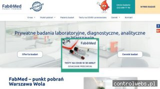 fabmed-badania.pl - prywatne badania diagnostyczne Warszawa