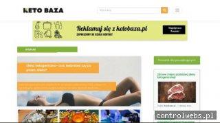 Ketobaza.pl - największy portal o diecie ketogenicznej