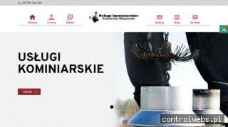 www.kominiarztyburski.pl czyszczenie kominów Puławy