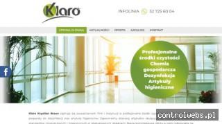 Klaro - zaopatrzenie firm w środki czystości