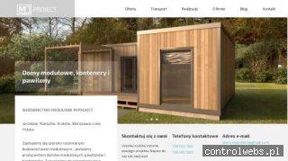 MJ Project producent domów modułowych, kontenerów