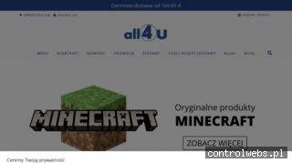 Gadżety Minecraft