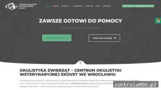 cowe.pl leczenie oczu psa Wrocław