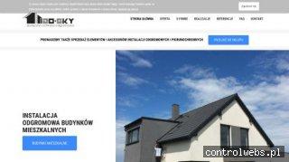 Izosky | Projekt instalacji odgromowej