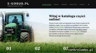 e-Ursus.pl - Katalog części zamiennych do sprzętu rolniczego