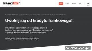 Sprawy frankowe kancelaria Głogów - sprawychf.pl