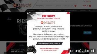 Internetowy sklep motocyklowy legato-motocykle.pl