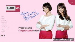Przedłużanie włosów - hairme.pl