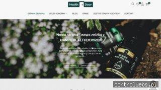 Sklep Konopny HealthDoor - olejki cbd, herbaty konopne