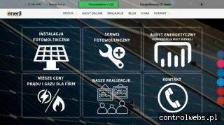 Enerji.pl dla Biznesu - Instalacja Fotowoltaiczna