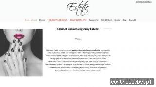 www.esteticrzeszow.pl