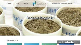 Sprzęt Laboratoryjny Dla Farmacji - Tusnovics