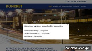 motokonkret.pl - Wypożyczalnia aut