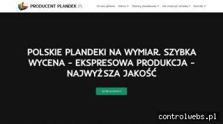Plandeki z oknami - producentplandek.pl