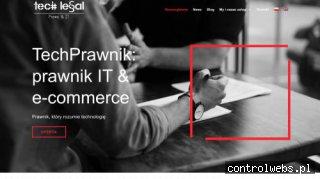 Prawnik e-commerce - tech-legal.pl