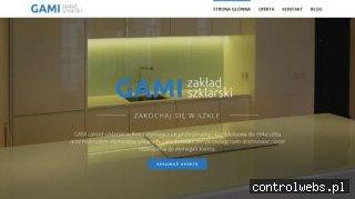 Drzwi szklane z grafiką - Gami.com.pl
