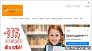 Antykwariat OTO Książka 24 - tania księgarnia internetowa