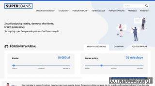 SUPERLOANS.pl: Porównywarki pożyczek online