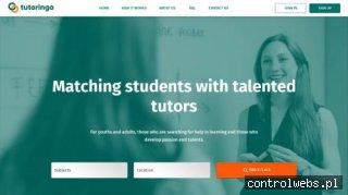 Tutoringo - platforma, która łączy korepetytorów i uczniów.