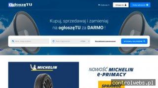 ogłoszęTU - darmowe ogłoszenia na ogloszetu.pl