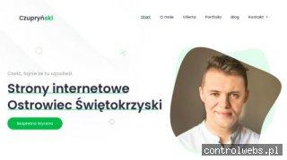 Strony internetowe Emil Czupryński