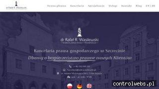 Radca prawny Szczecin - dr Rafał R. Wasilewski Kancelaria