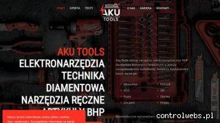 AKU Tools - Elektronarzędzia, narzędzia ręczne, artykuły bhp