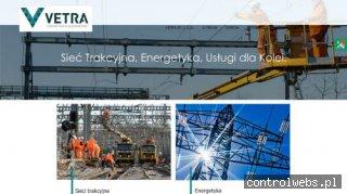 vetra.com.pl budowa sieci trakcyjnej