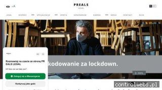 Radca prawny Warszawa - legal.preals.pl
