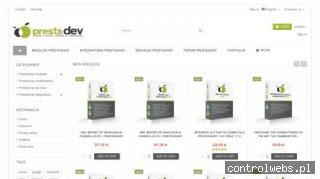 Moduły, integracje oraz sklepy internetowe oparte na PrestaShop