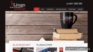 Biuro Tłumaczeń Lingo w Opolu