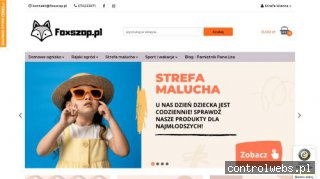Foxszop.pl - sklep internetowy   Dom   Ogród   Sport   Zabaw