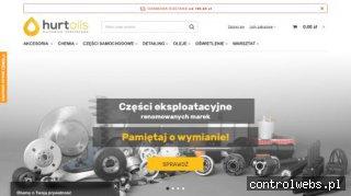 Sklep z olejami i chemią samochodową   hurtoils.pl