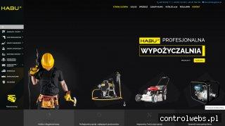 Habu | sprzedaż i wynajem sprzętu budowlanego | Gdynia