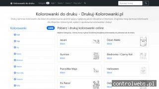 Kolorowanki do druku - Drukuj-Kolorowanki.pl