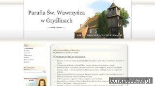 Parafia Świętego Wawrzyńca w Gryźlinach