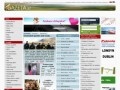 Screenshot strony www.gazeta.ie