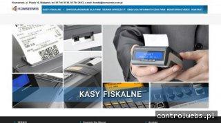 Firma informatyczna Komserwis – Komputery, kasy fiskalne