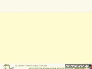 Ogłoszenia drobne, praca Leżajsk , reklama, nieruchomości
